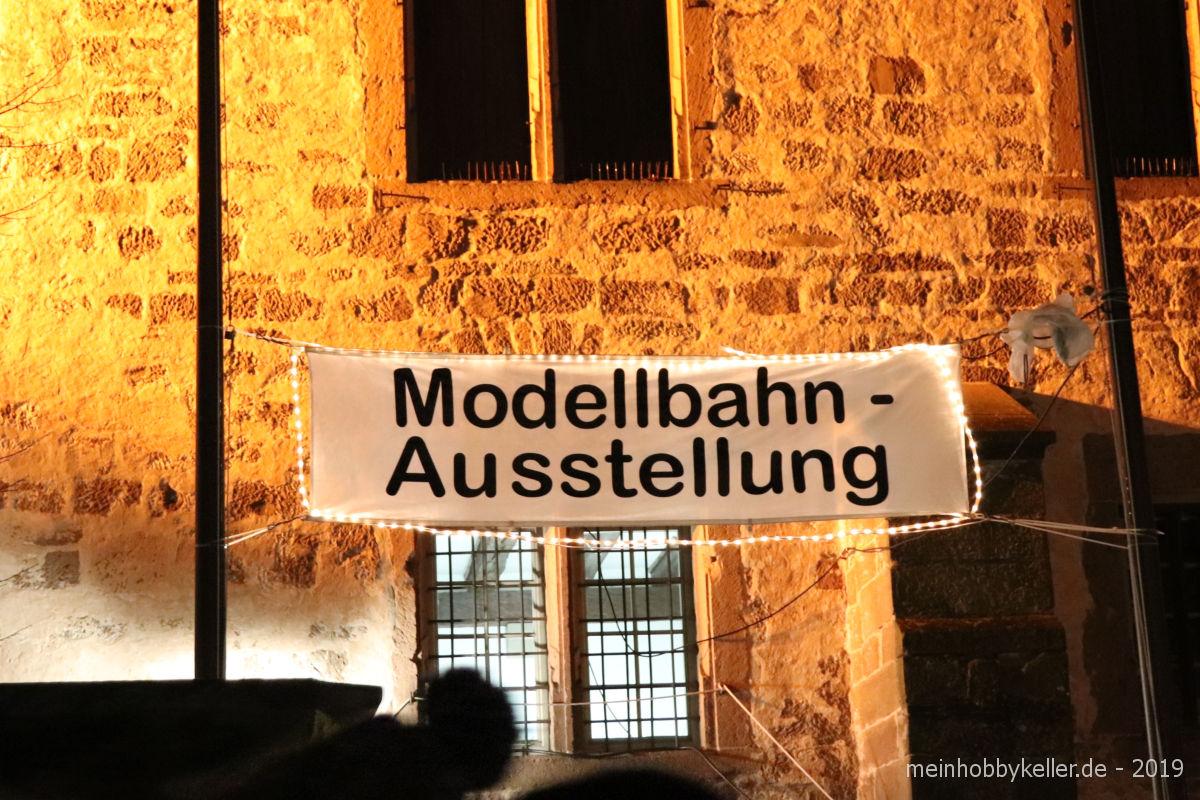 Modellbahnausstellung Maulbronn